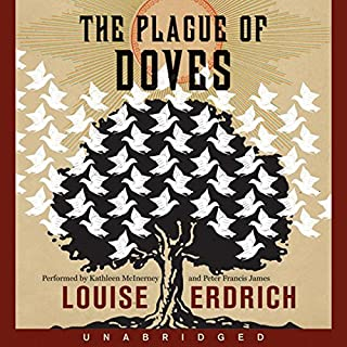 The Plague of Doves audiobook cover art