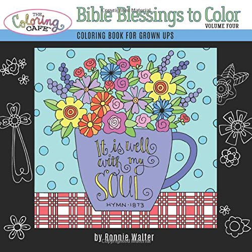 The Coloring Cafe-Volume Four-Bible Blessings to Color (Volume 4)