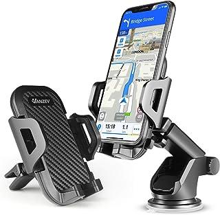 VANZEV Handyhalterung Auto Lüftung & Saugnapf Handy Halterung 3 in 1 Universale KFZ Handyhalter für iPhone 12/12 Pro/ 11/ XR Xs Max 8 Plus Se 2020 Samsung Galaxy S20 Ultra/ S10 A51 A71 Huawei Xiaomi