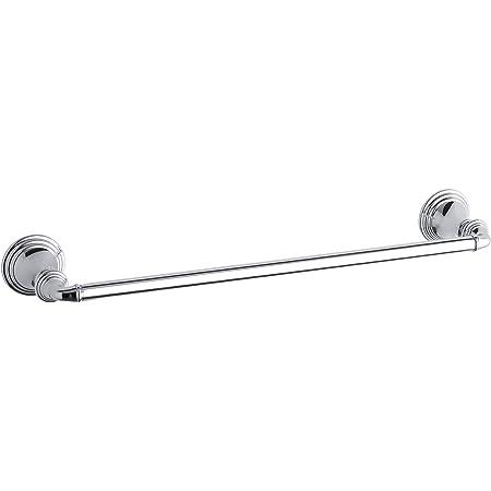 Kohler K 13500 Cp Kelston 18 Inch Bathroom Towel Bar Polished Chrome Amazon Com