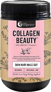 Nutra Organics Collagen Beauty with Verisol + C, Skin Hair Gut Health (Unflavored 15.9oz)