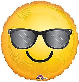 Burton & Burton Smiling Sunglasses Emoticon Foil/Mylar Balloon