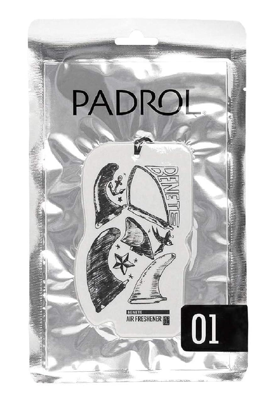 驚いたことに学者群衆ノルコーポレーション ルームフレグランス エアーフレッシュナー パドロール 吊り下げ BENETE PAD-5-01 ホワイトムスクの香り 1枚