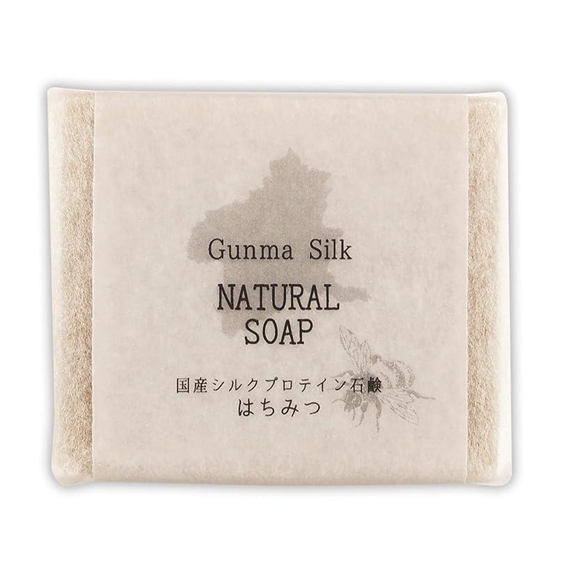 納屋比較的小麦BN 国産シルクプロテイン石鹸 はちみつ SKS-02 (1個)
