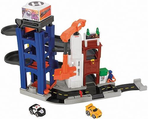 preferente Fisher-Price Roll Roll Roll N Go Get Away Garage  Disfruta de un 50% de descuento.
