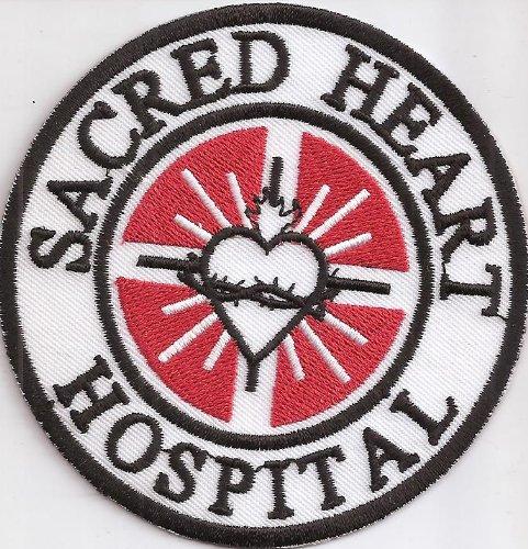 Scrubs Sacred Heart Hospital Emergancy Kostüm Aufnäher Patch Abzeichen