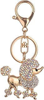 Prettyia Shiny Diamante Keychain Bag Car Pendant Keyring Gifts Car Key Ring Accessory