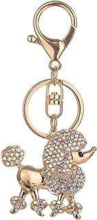 Prettyia Shiny Diamante Keychain Bag Car Pendant Keyring Gifts Car Key Ring Accessory