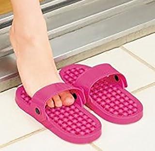 マルチ サンダル (ピンク) 両方向から履けるからベランダやトイレ、浴室などに便利 雨などの水に濡れても水が溜まらないデザイン