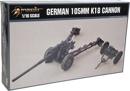 descuentos y mas Merit 61.601 - Kit Modelo alemán K18 Cannon, 105 105 105 mm  para mayoristas