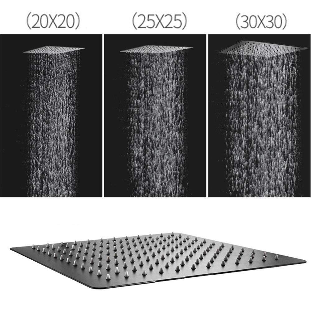 ducha empotrada en el techo manguera de ducha y soporte, con ...