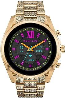 Michael Kors Damen Touchscreen Smartwatch 6. Generation mit Lautsprecher, Herzfrequenz, NFC und Smartphone Benachrichtigungen