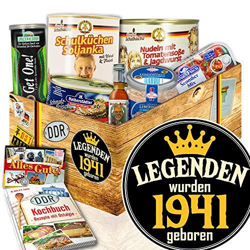 Legenden 1941 - DDR Paket - Geschenke Ideen für Sie - Ostprodukte Set