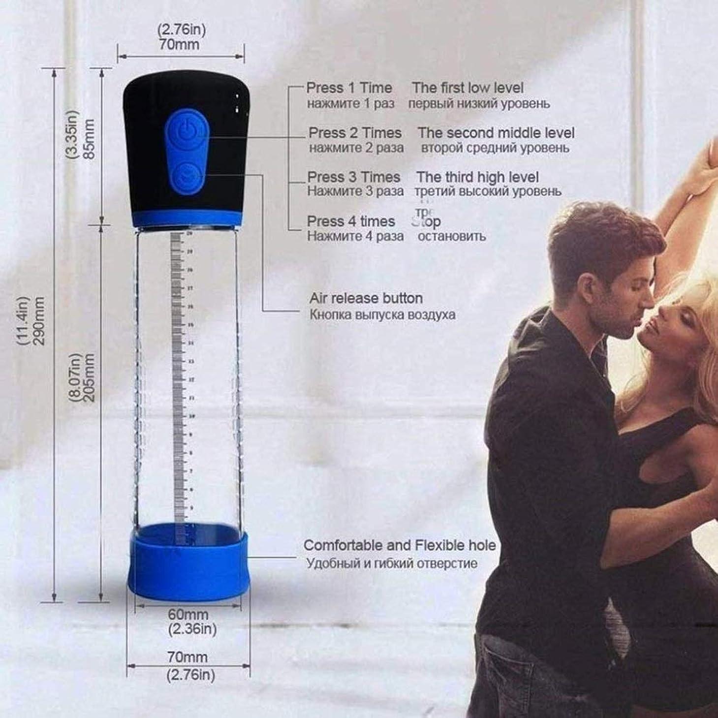 指紋懺悔素晴らしい良い多くのWsss- マッサージツール 現実的な男性電動自動拡大ポンプ効果的なパワー真空ポンプツール、ペニスエクステンダーフィットほとんどの男性はサイズと強度を増加させます