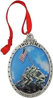 Indiana Metal Craft U.S. Marine Corps Iwo Jima Gallery Print Ornament IMC-Retail. Made in USA.