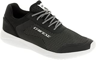 Dainese Afterace Shoes Black/Silver/White (40 EU/ 7.5 US)