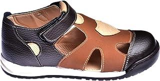 Kiko Şb 2418-23 Ortopedik Erkek Çocuk Ayakkabı Sandalet Kahverengi