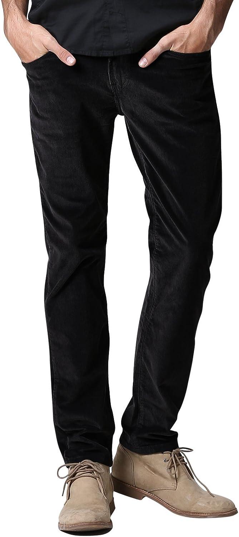 Match Men's Slim-Tapered Flat Front Corduroy #8052 Manufacturer OFFicial shop Casual Pants Bargain sale