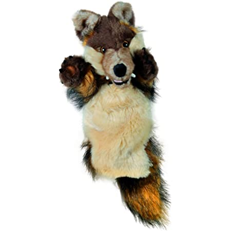 Long-Sleeved Glove Puppets: Wolf.