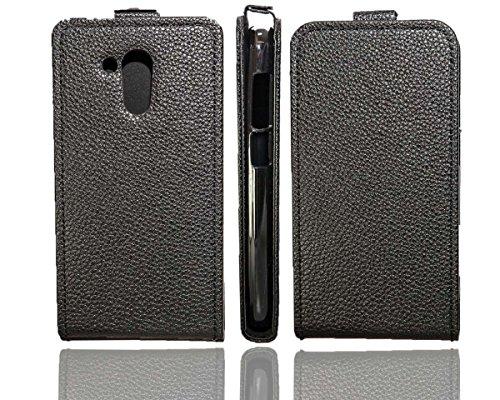 caseroxx Flip Cover für Acer Liquid Z500 Plus, Tasche (Flip Cover in schwarz)