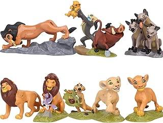 Anime Movie Lion King Toy Model Lion Simba Pumbaa Mufasa Timon Toy Model Action Figures