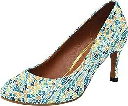 peacock colored heels