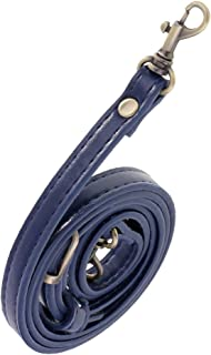 Prettyia Adjustable PU Leather Crossbody Shoulder Bag Strap Handle Replacement Blue