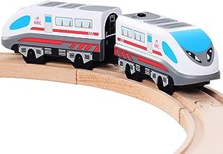 Amazoncom Motorized Train For Wooden Track