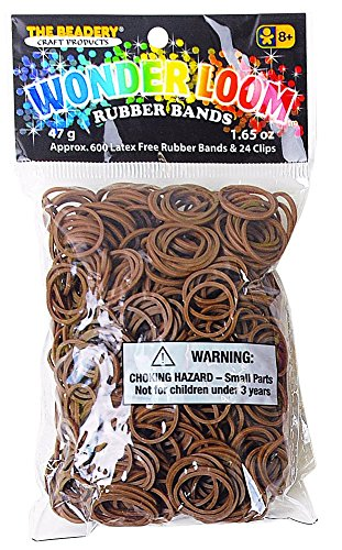 Wonderloom Bands - Brown - 7295056