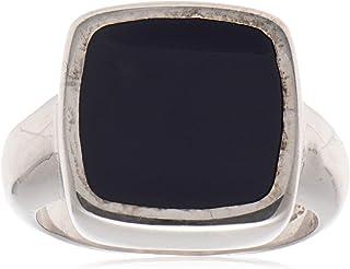 خاتم فضة استرلينية ملكي للرجال من عتيق