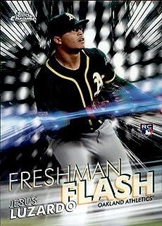 2020 Topps Chrome Freshman Flash #FF-8 Jesus Luzardo Oakland Athletics MLB Baseball Trading Card