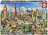 Educa Borras - Genuine Puzzles, Puzzle 2.000 piezas, Símbolos de Europa (17697)