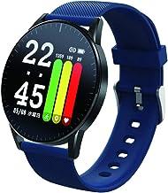 [アリアス] 腕時計 スマートウォッチ 防水 多機能 iPhone Android 対応 シリコンベルト WW19042S-BU メンズ ブルー