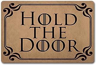 ZQH WelcomeDoor Mats Hold The Door Doormat Game of Thrones Door Rugs Monogram Funny Door Mat (23.6 X 15.7 in) Non-Woven Fa...