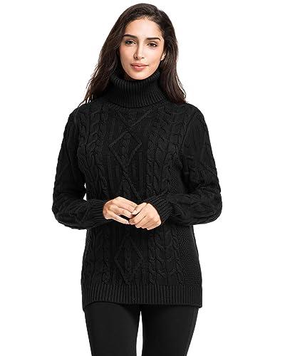 cf7edcd4fb Women s Cable Knit Sweater  Amazon.com