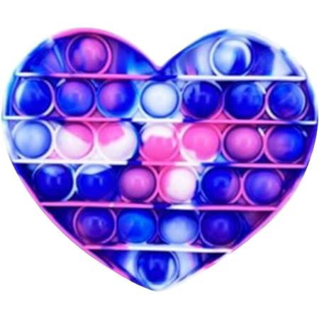 Funyplus Fidget Toy Pop Push Pop, Pop Bubble Jouet Anti-Stress sensoriel Relaxant. Jouet sensoriel, autisme. Squeeze, soulage l'anxiété