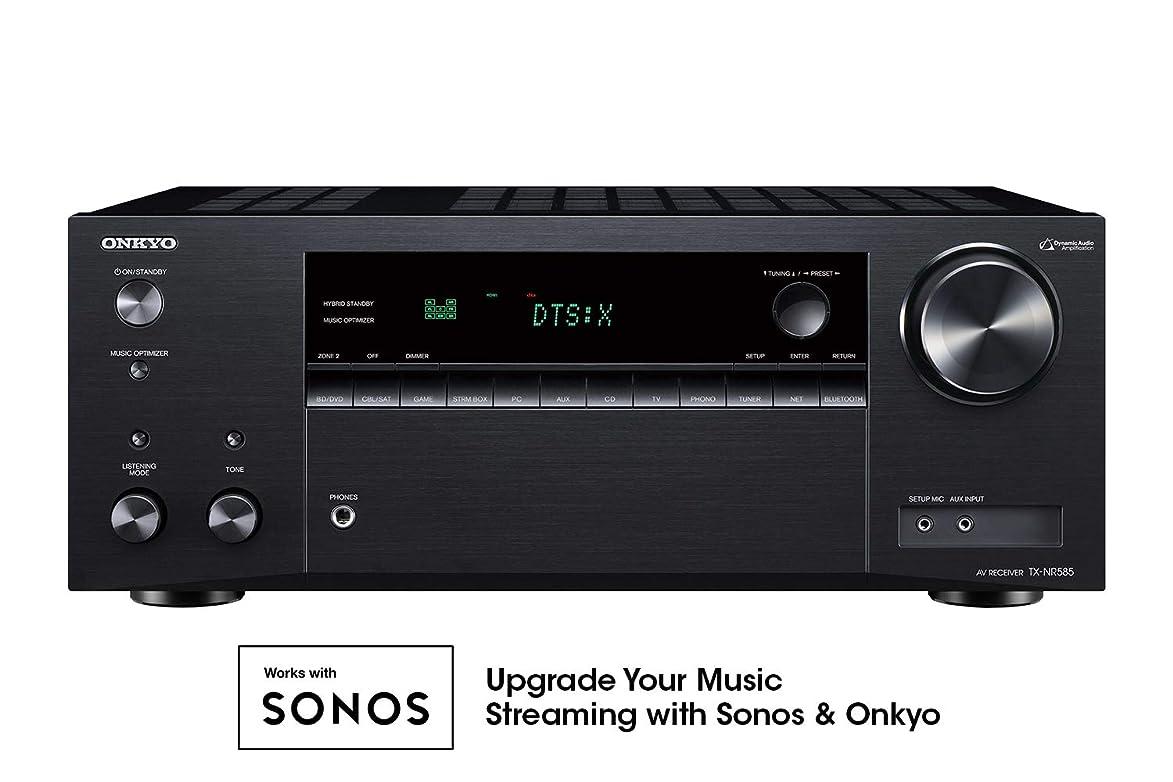 Onkyo TX-NR585 7.2 Channel Network A/V Receiver Black