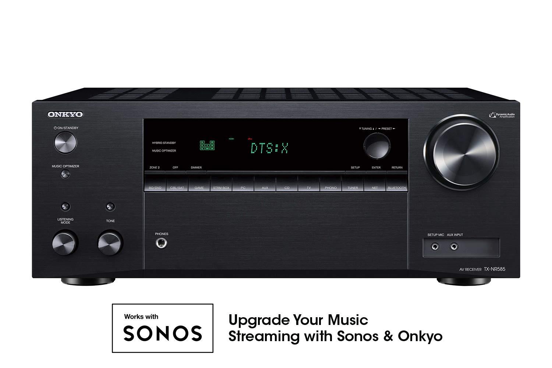 Onkyo TX NR585 Channel Network Receiver