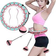 Smart Hula Hoop Smart Hula Hoop Massage Weighted Hula Hoops Fitness Intelligent Circle Hoop 24 Knots maat verstelbaar zal ...