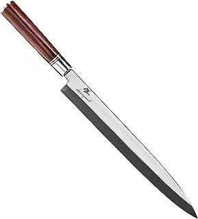 Tranchant Saumon fileter Sushi Kinfe acier chef Couteau de cuisine japonaise Cuisiner les poissons Sashimi Couteaux à Dalb...