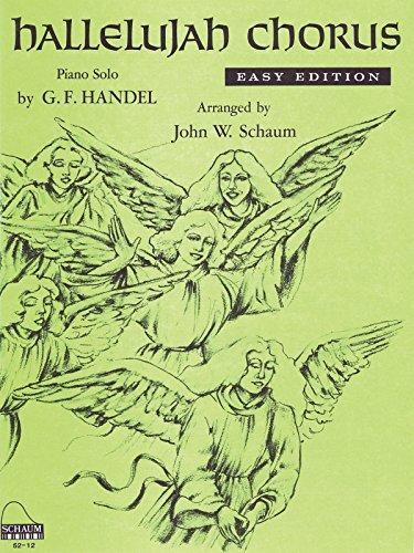 Piano or Keyboard-Hallelujah Chorus-BOOK