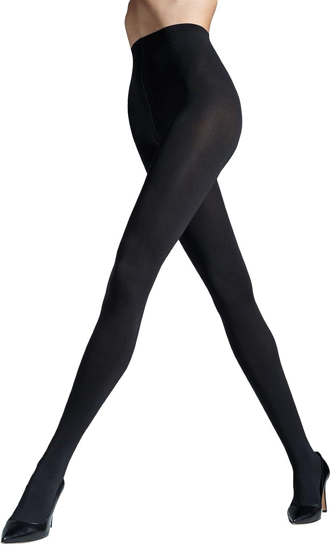 Gatta SATTI MATTI Women's Ultra Opaque Satin Soft Tights in Black, Dark Grey and Burgundy 120 Denier [Made in Europe]