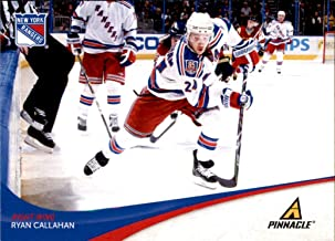 2011-12 Pinnacle #124 Ryan Callahan NEW YORK RANGERS NHL Network Hockey Analyst NHL Hockey Trading Card