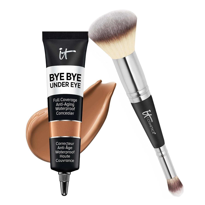 IT Cosmetics Makeup Set 激安卸販売新品 - Includes 即納送料無料 Bye Eye Supersize C Under