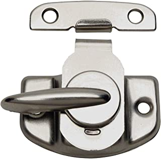 10 Pack - Designers Impressions 53621 Satin Nickel Cam-Action Window Sash Lock and Keeper