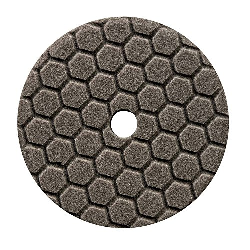 Chemical Guys BUFX116HEX6 Hex-Logic Quantum Finishing Pad, Black (6.5 Inch Pad made for 6 Inch backing plates)