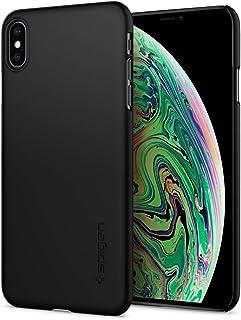 【Spigen】 スマホケース iPhone XS Max ケース 6.5インチ 対応 レンズ保護 超薄型 超軽量 シン・フィット 065CS24824 (ブラック)