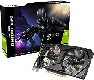 玄人志向 NVIDIA GeForce GTX 1660Ti 搭載 グラフィックボード 6GB デュアルファン GALAKURO GAMINGシリーズ GG-GTX1660Ti-E6GB/DF