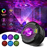 Galaxy Projector Star Projector Night Light with Bluetooth Music Speaker and Remote Control Smart APP Work with Alexa Google Home Galaxy Cove Star Projector for Ceiling Bedroom for Baby Kids Adults