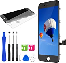 for iPhone 7 Screen Replacement, BuTure LCD Display Touch Screen Assembly with Magnetic Repair Tools and Screen Protector ...